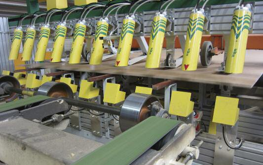 Installation of new CONTI-SOUND blow detection system at Kronoply, Germany