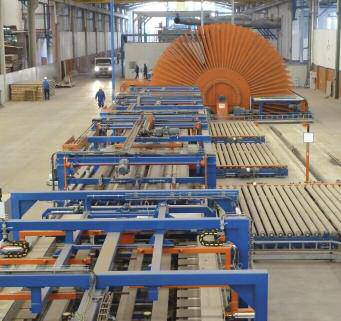 Cooling star and EMG-supplied handling/finishing at Eucatex MDF/HDF, Salto